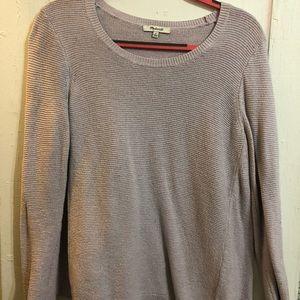 Comfy sweater in light purple
